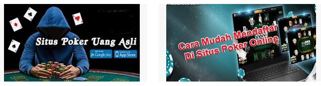 Cara membuat akun judi poker online di sbobet