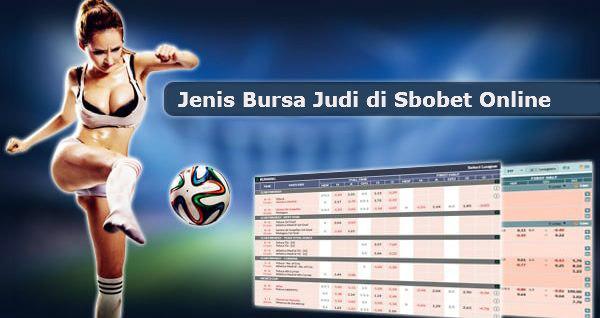 Jenis permainan judi online di Sbobet dengan pasaran paling lengkap dan menguntungkan